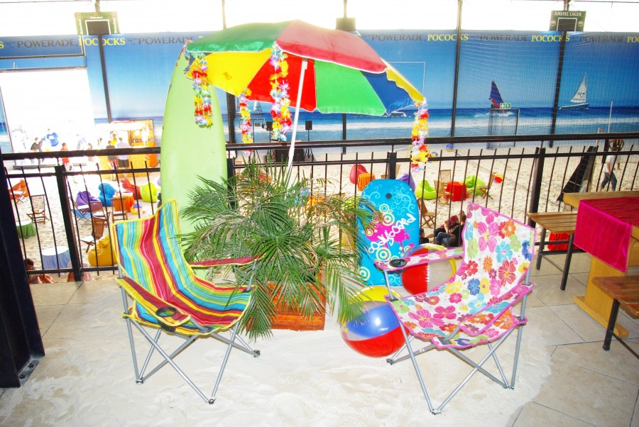 indoor beach party for adults