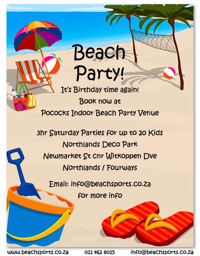 Kids Birthday Party Flyer copy